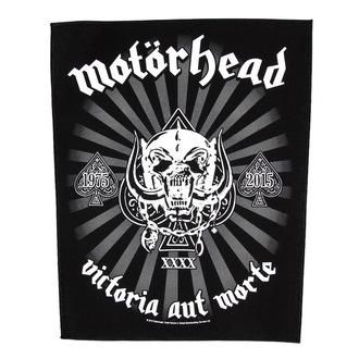 patch large Motörhead - Victoria Rental Mort 1975-2015 - RAZAMATAZ, RAZAMATAZ, Motörhead