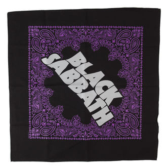 kerchief Black Sabbath - Logo - RAZAMATAZ, RAZAMATAZ, Black Sabbath