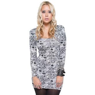 dress women IRON FIST - Sugar Coma - White - IF003679