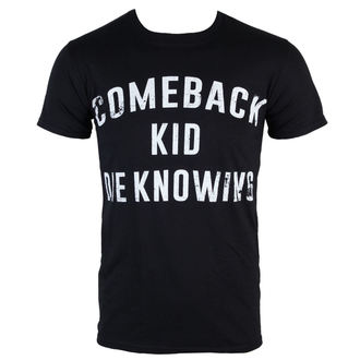 t-shirt metal men's Comeback Kid - Die Knowing - KINGS ROAD, KINGS ROAD, Comeback Kid