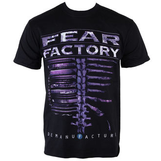 t-shirt metal men's Fear Factory - Demanfacture - PLASTIC HEAD, PLASTIC HEAD, Fear Factory