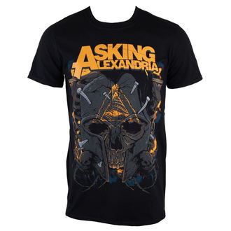 t-shirt metal men's Asking Alexandria - Skull - PLASTIC HEAD, PLASTIC HEAD, Asking Alexandria