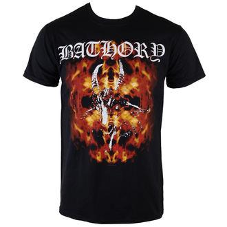 t-shirt metal men's Bathory - Fire Goat - PLASTIC HEAD, PLASTIC HEAD, Bathory