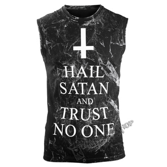 Top Men's AMENOMEN - HAIL SATAN AND TRUST NO ONE, AMENOMEN