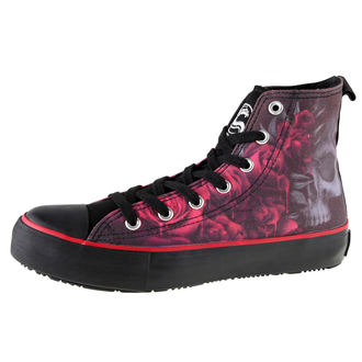 high sneakers women's - Blood Rose - SPIRAL, SPIRAL