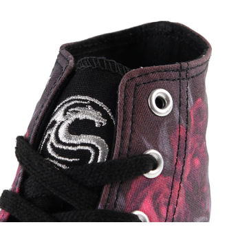 high sneakers women's Blood Rose - SPIRAL - K018S002