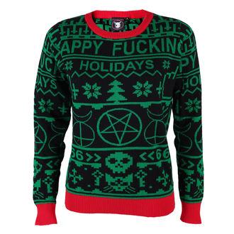 Women's sweater TOO FAST - Xmas - Happy Fucking