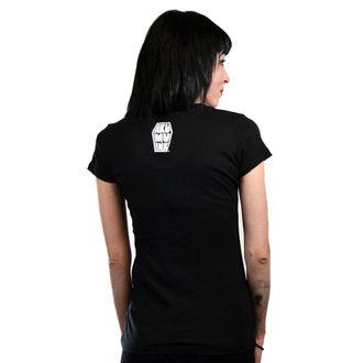 t-shirt hardcore women's - We're All Mad Here - Akumu Ink - 7TW14