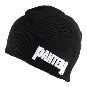 beanie Pantera - Logo Cotton - Black - ROCK OFF- PANTBEAN02