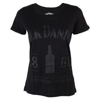 t-shirt street women's Jack Daniels - 1866 - JACK DANIELS - TS530609JDS