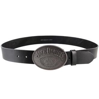 belt Jack Daniels - With Oval Buckle - Black, JACK DANIELS