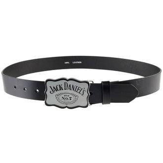 belt Jack Daniels - Curved Plate - W / Black, JACK DANIELS