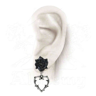 earrings ALCHEMY GOTHIC - Wounded Love Earstuds - E365