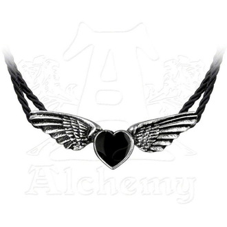 necklace ALCHEMY GOTHIC - Coeur Noir, ALCHEMY GOTHIC