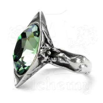 ring ALCHEMY GOTHIC - Absinthe Fairy Spirit Crystal, ALCHEMY GOTHIC