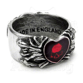 ring ALCHEMY GOTHIC - Broken Heart, ALCHEMY GOTHIC
