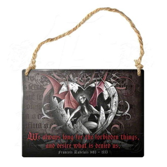 hanging plaque ALCHEMY GOTHIC - Forbidden Things, ALCHEMY GOTHIC