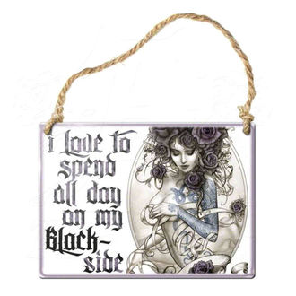 hanging plaque ALCHEMY GOTHIC - Blackslide, ALCHEMY GOTHIC