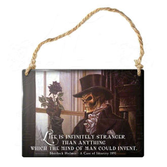 hanging plaque ALCHEMY GOTHIC - Life Is Infinitely Stranger, ALCHEMY GOTHIC