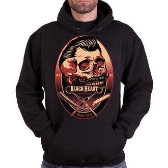 hoodie men's - Barber - BLACK HEART - BH095