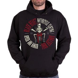 hoodie men's - Speed And Danger - BLACK HEART - BH100
