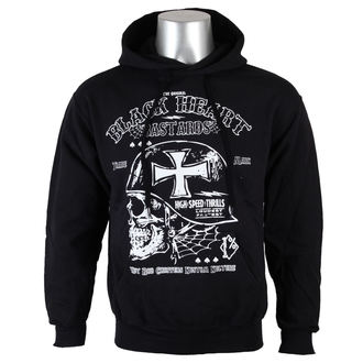 hoodie men's - High Speed - BLACK HEART, BLACK HEART
