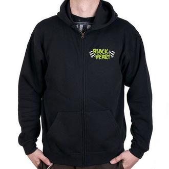 hoodie men's - Monster Green - BLACK HEART, BLACK HEART