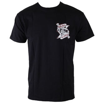 t-shirt street men's - Rat Bastard - BLACK HEART, BLACK HEART