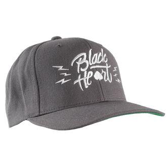 cap BLACK HEART - Mark - Grey, BLACK HEART