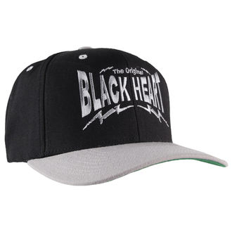 cap BLACK HEART - Snap Back - Black / Grey - BH010