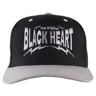 cap BLACK HEART - Snap Back - Black / Grey, BLACK HEART