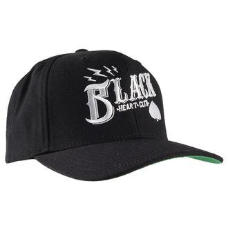 cap BLACK HEART - Wrench Skull - Black, BLACK HEART