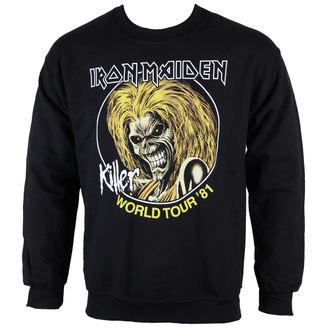 sweatshirt (no hood) men's Iron Maiden - Killers 81 - ROCK OFF, ROCK OFF, Iron Maiden