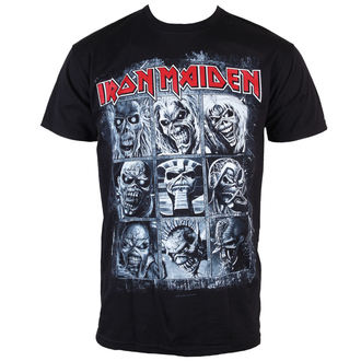 t-shirt metal men's Iron Maiden - - ROCK OFF - IMTEE47MB