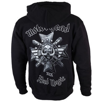 hoodie men's Motörhead - Bad Magic - ROCK OFF, ROCK OFF, Motörhead