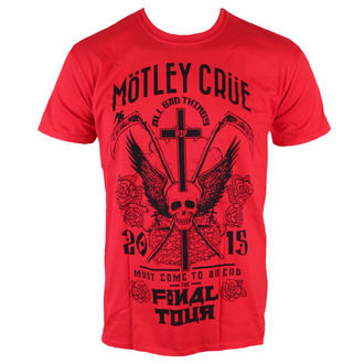 t-shirt metal men's Mötley Crüe - Final Tour Tattoo - ROCK OFF, ROCK OFF, Mötley Crüe