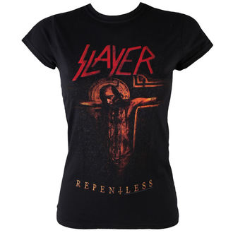 t-shirt metal women's Slayer - Repentless Crucifix - ROCK OFF, ROCK OFF, Slayer