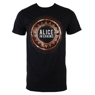 t-shirt metal men's Alice In Chains - Circle Logo - BRAVADO, BRAVADO, Alice In Chains