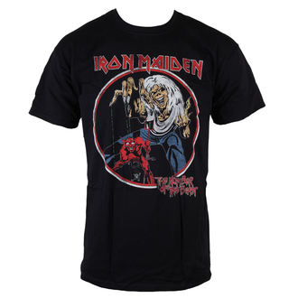 t-shirt metal men's Iron Maiden - NOTB Vintage - ROCK OFF - IMTEE42MB