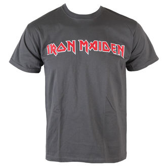 t-shirt metal men's Iron Maiden - Classic Logo - ROCK OFF - IMTEE49MC