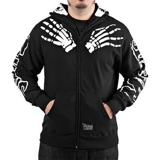 hoodie men's Misfits - Misfits - FAMOUS STARS & STRAPS - Black