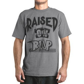 t-shirt street men's - Raised On Rap - FAMOUS STARS & STRAPS, FAMOUS STARS & STRAPS