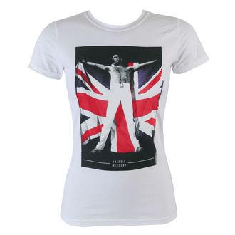 t-shirt metal women's Queen - Flag - BRAVADO, BRAVADO, Queen