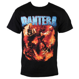 t-shirt metal men's Pantera - Flames Vintage - BRAVADO, BRAVADO, Pantera