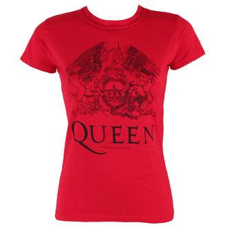 t-shirt metal women's Queen - Logo - BRAVADO, BRAVADO, Queen