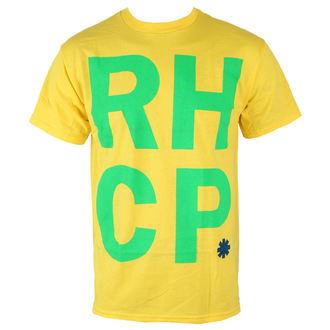 t-shirt metal men's Red Hot Chili Peppers - Brazil Colors - BRAVADO, BRAVADO, Red Hot Chili Peppers