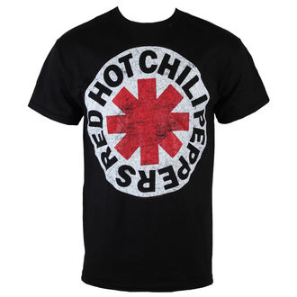 t-shirt metal men's Red Hot Chili Peppers - Asterisk Circle - BRAVADO, BRAVADO, Red Hot Chili Peppers
