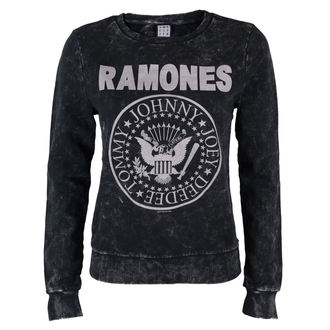 sweatshirt (no hood) women's Ramones - Macrame Sweat - AMPLIFIED, AMPLIFIED, Ramones
