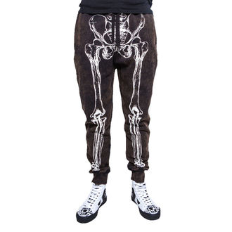 pants men (trackpants) IRON FIST - Wishbone Sweatpants - Black - IFM003732