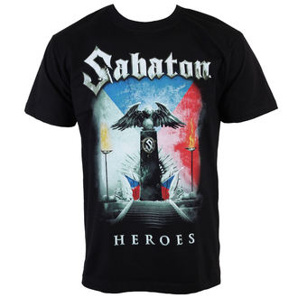 t-shirt metal men's Sabaton - Heroes Czech Republic - CARTON - K_675